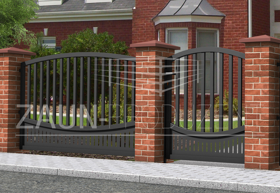 capri metallzaun hersteller torsysteme moderne z une. Black Bedroom Furniture Sets. Home Design Ideas