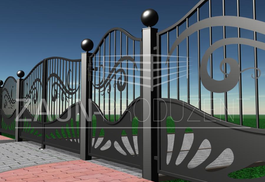 castello metallzaun hersteller torsysteme moderne z une. Black Bedroom Furniture Sets. Home Design Ideas
