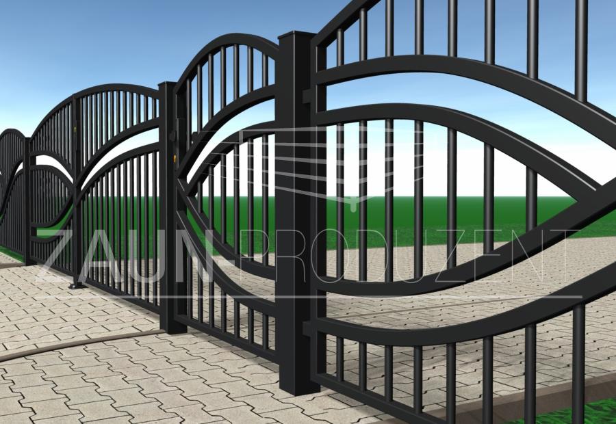 victoria metallzaun hersteller torsysteme moderne z une. Black Bedroom Furniture Sets. Home Design Ideas