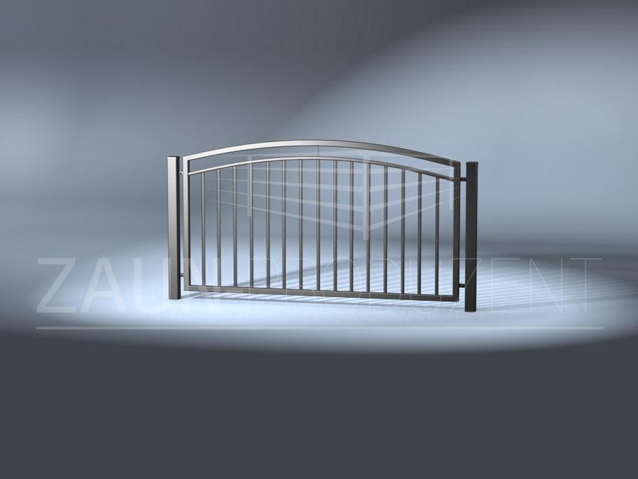 samos metallzaun hersteller torsysteme moderne z une. Black Bedroom Furniture Sets. Home Design Ideas
