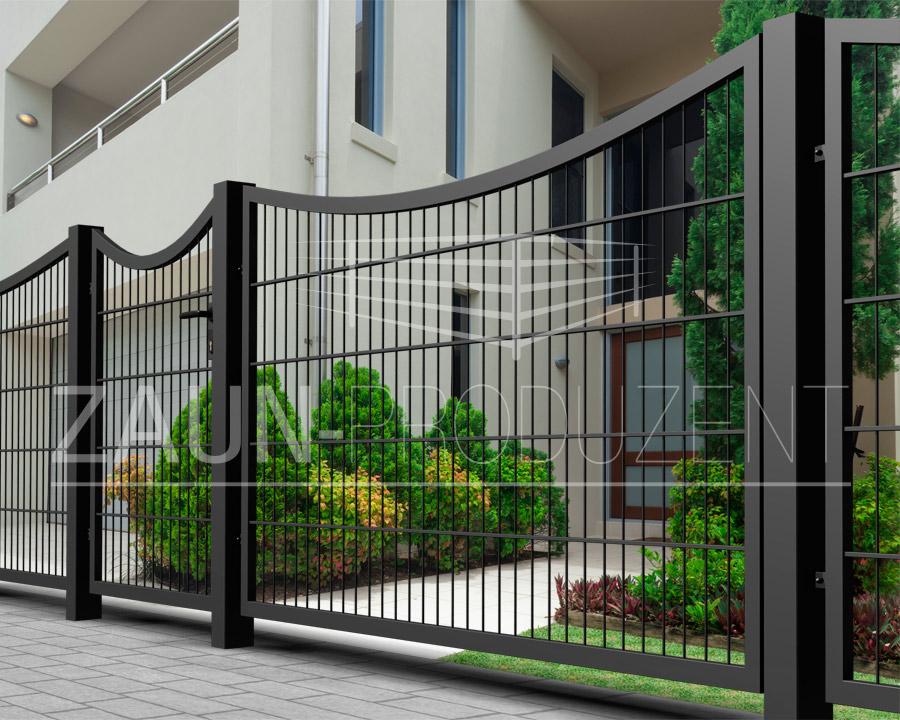 kuba metallzaun hersteller torsysteme moderne z une. Black Bedroom Furniture Sets. Home Design Ideas