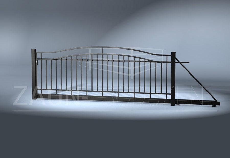 luzon metallzaun hersteller torsysteme moderne z une. Black Bedroom Furniture Sets. Home Design Ideas