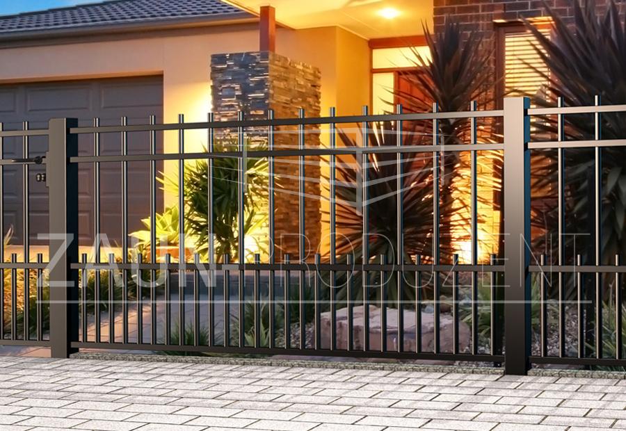 murano metallzaun hersteller torsysteme moderne z une. Black Bedroom Furniture Sets. Home Design Ideas