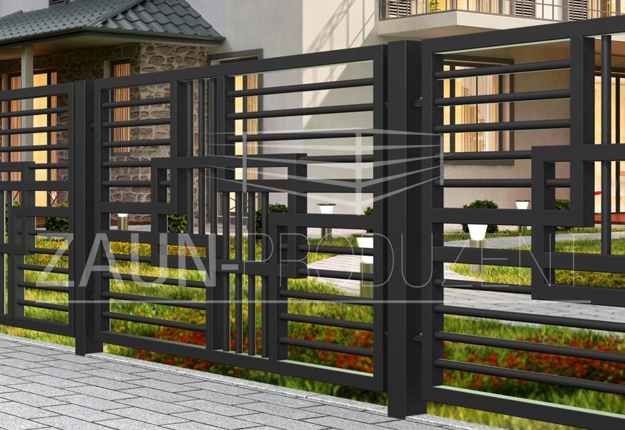 princess metallzaun hersteller torsysteme moderne z une. Black Bedroom Furniture Sets. Home Design Ideas