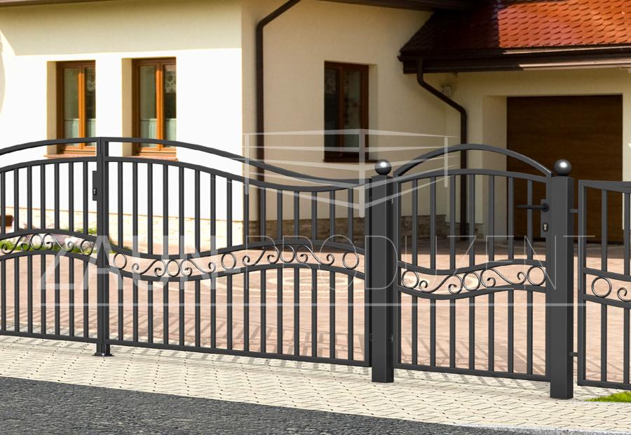 bristol metallzaun hersteller torsysteme moderne z une. Black Bedroom Furniture Sets. Home Design Ideas